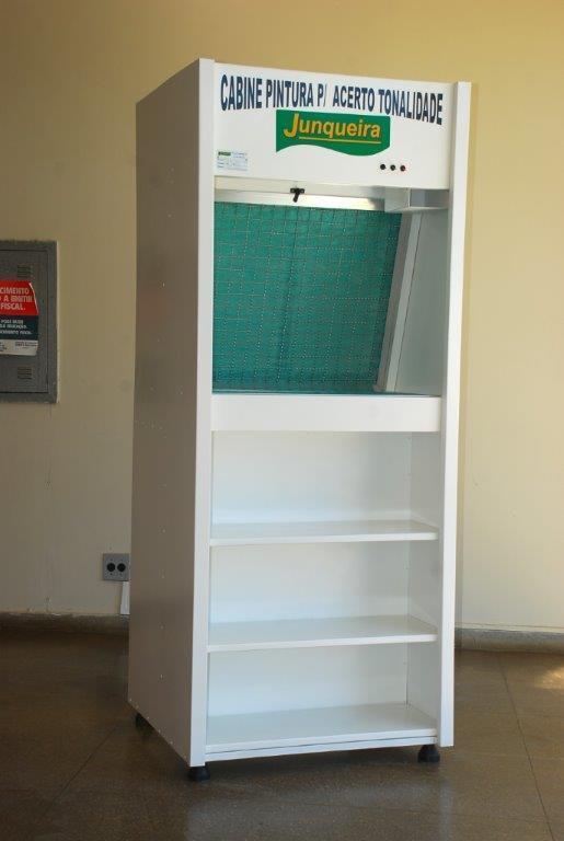 Cabine de pintura para funilaria